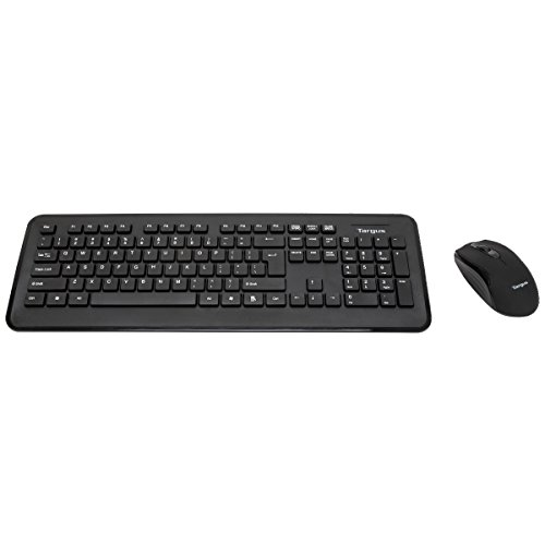 - Targus 2.4 GHz Wireless Keyboard Mouse, Black (AKM001US)
