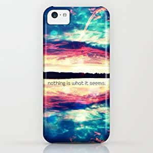 Society6 - Nothing Is What It Seems - For Iphone iPhone & iPod Case by Simone Morana Cyla