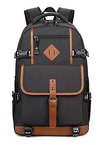 15.4 Professional Backpack - Laptop Outdoor Backpack ,Water Resistant College Travel Rucksack