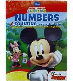 Mickey Work Book - Number & Counting [5 Retail Unit(s) Pack] - 1459NS