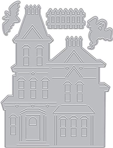 Paper Layering Haunted House - Paper Haunted House