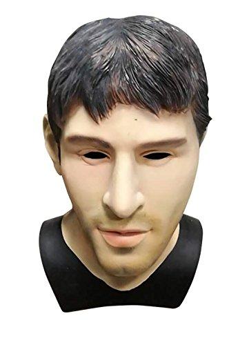Latex Realistic Male Head Masks Human Look Halloween Cosplay -