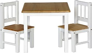 IB - Style - Meubles enfants NOA | 3 combinaisons |Set: 1 table et 2 chaises enfant - Chambre enfant Meuble enfant