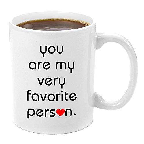 You're my Favorite Person | Premium 11oz Coffee Mug Gift Set - You're my Person Mug, Official Gay Wedding Present Gift, Elephant, My Best Friends Wedding, Anatomy Mug, Greys Anatomy, You're Beautiful