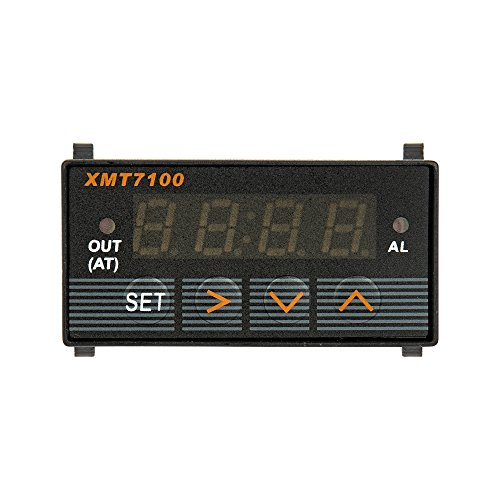 XMT7100 Temperature Controller Programmable Build in Relay 1/32 Din 85-265V