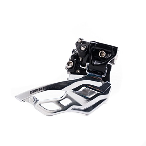 (SRAM X9 Bicycle Front Derailleur with 2 x 10 High-Clamp 318 Bottom Pull)
