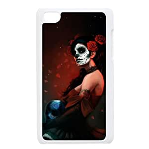 C-Y-F- Day of the dead girls Phone Case For Ipod Touch 4 [Pattern-2]