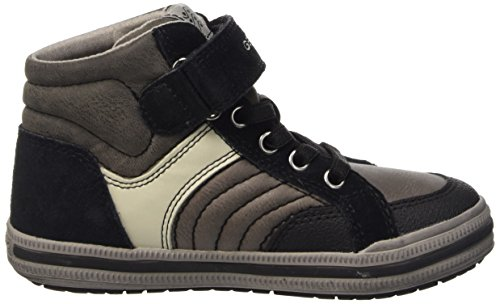 Sneakers Grey Top Grey Blackc0062 Boys' a Jr Dk Elvis Geox Hi RzPWgqT