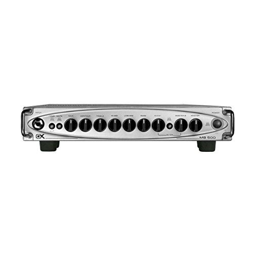 500w Head - Gallien-Krueger MB 500 500 Watt Bass Amplifier Head