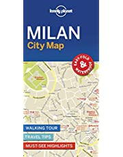Lonely Planet Milan City Map 1st Ed.