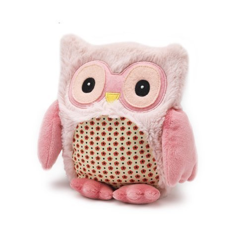 Intelex Hooty Microwaveable Plush, Pink by Intelex