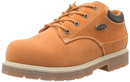 Lugz Men's Drifter LO LX Boot, Golden Wheat/Bark/Cream/Gum, 11 D US