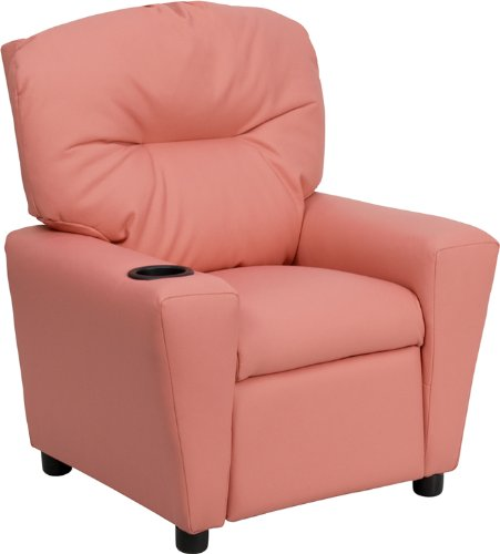 Zuffa Home Furniture Pink kids recliner