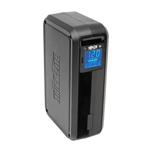 037332124999 - Tripp Lite 1000VA Smart UPS Battery Back Up, 500W Tower, 8 Outlets, LCD Display, AVR, USB, Tel / DSL / Coax Protection (SMART1000LCD) carousel main 3