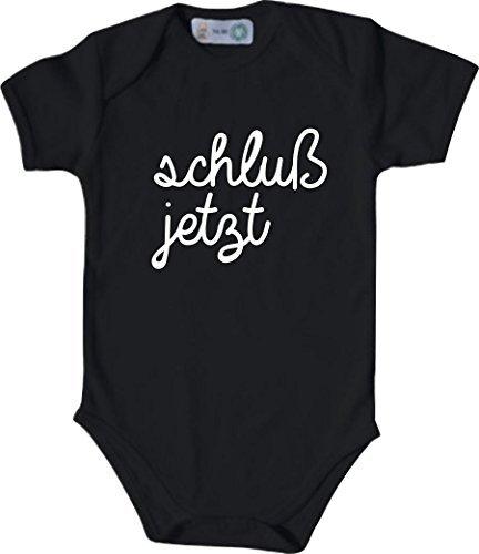 shirtinstyle manches courtes Body bébé drôle typo DICTON FINALE maintenant  - Noir, 50 56 b7b11a1b2571