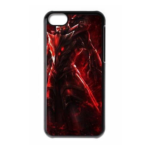 SwainLeague Of Legends coque iPhone 5c cellulaire cas coque de téléphone cas téléphone cellulaire noir couvercle EEECBCAAN07642