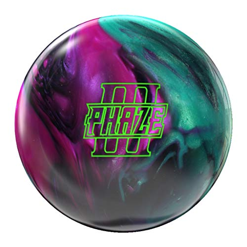 Storm Phaze III Bowling Ball- Obsidian/Jade/Orchid 15lbs