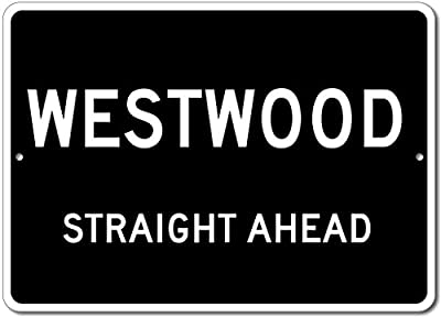 Custom Aluminum Sign - WESTWOOD, KENTUCKY US City Straight Ahead Sign