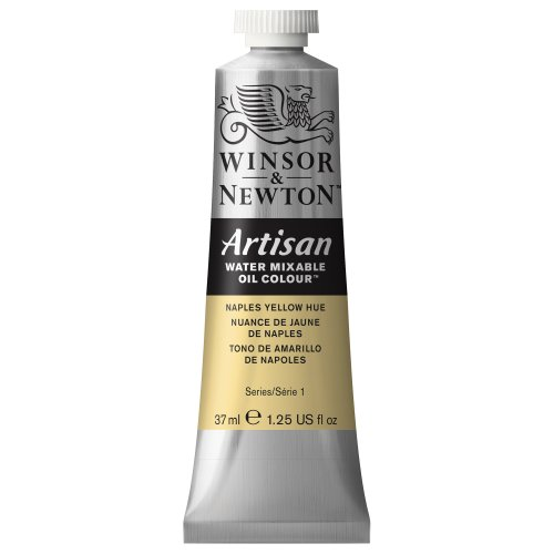 Winsor & Newton 1514422 Artisan H20 Oils 37ML. Naples Yellow, 37-ml Tube, Hue (Yellow Tube Naples)