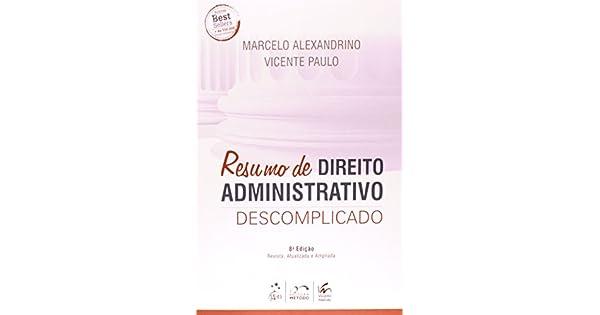 Descomplicado pdf administrativo 2015 direito