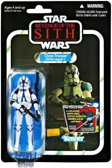 Star Wars Revenge of the Sith The Vintage Collection - Clone Trooper - 501st Legion Figure ()