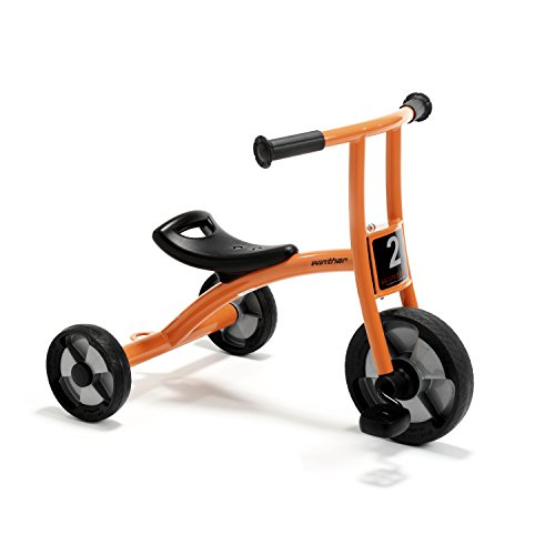 Winther WIN550 Circleline Tricycle, Small Grade Kindergarten to 1, 10.63'' Height, 18.5'' Wide, 24.41'' Length by Winther