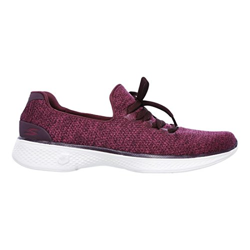 Skechers Performance Damen Go Walk 4 A.D.C.  Burgund