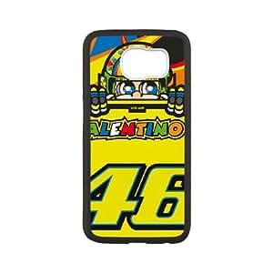 Valentino Rossi 002 Samsung Galaxy S6 Cell Phone Case Black PSOC6002625631793