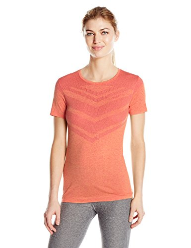 (Craft Sportswear Women's Cool Comfort Running and Training Fitness Workout Round Neck Short Sleeve Shirt, Push, X-Small)