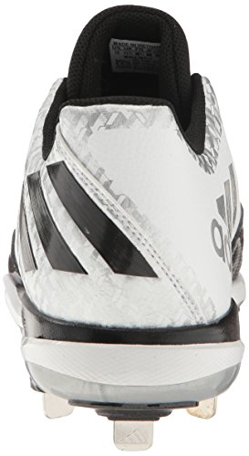 Adidas silver black White metallic Baseball Da Poweralley Uomo 4 v817wrv