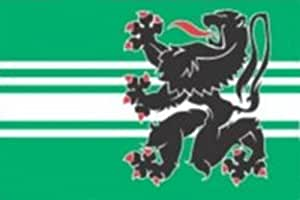 magFlags Large Flag Oost-Vlaanderen   landscape flag   1.35m²   14.5sqft   90x150cm   3x5ft - 100% Made in Germany - long lasting outdoor flag
