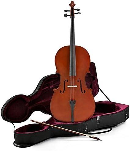 Violonchelo de Estudiante de 1/2 + Estuche de Gear4music: Amazon.es: Instrumentos musicales