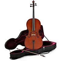Student Full Size Cello with Case by Gear4music