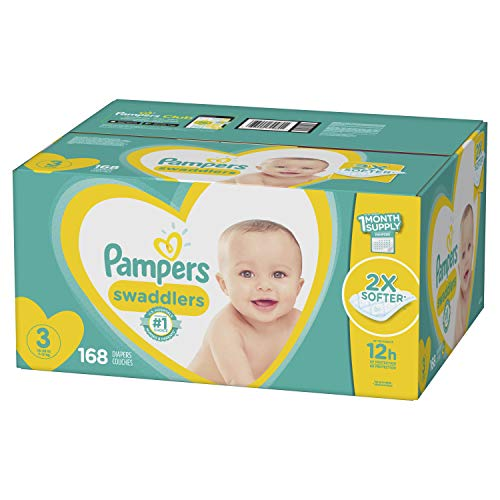 Pampers Swaddlers Diapers Size 3 168 Count]()