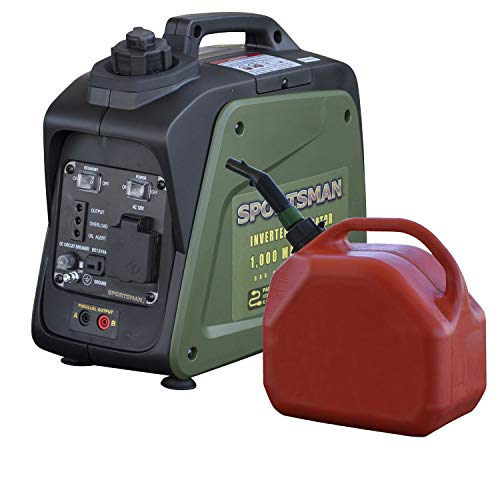 Sportsman 1000 Surge Watts Gasoline Portable Inverter Generator with Parallel Connection Sportsman