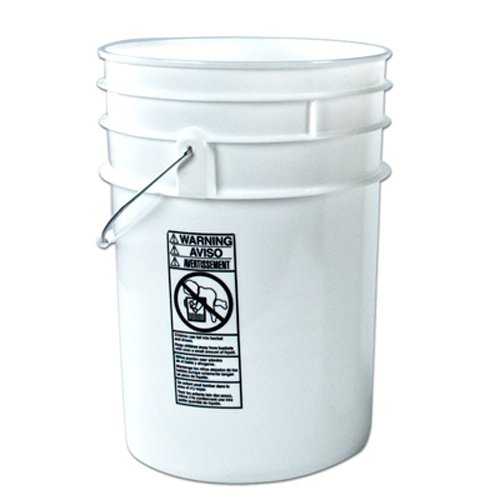 6 gallon bucket with lid - 9