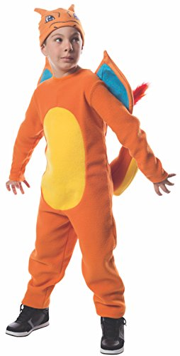 Rubie's Costume Pokemon Charizard Costume, Large]()