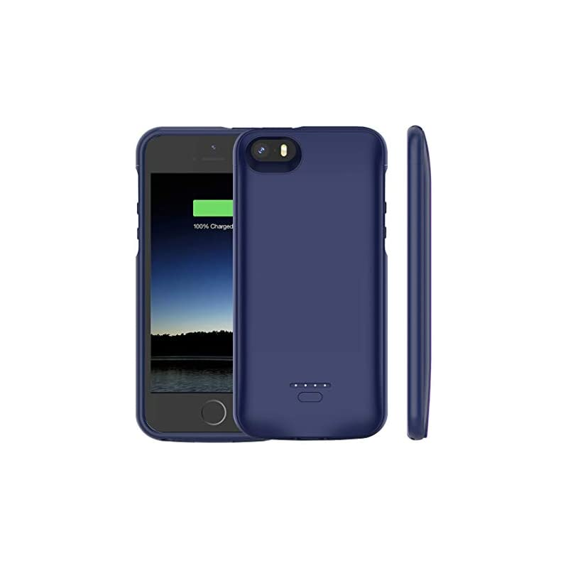 iPhone 5 /5S /SE Battery Case, Euhan 400