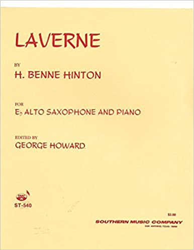 Amazoncom Laverne For Eb Alto Sax Piano Sheet Music