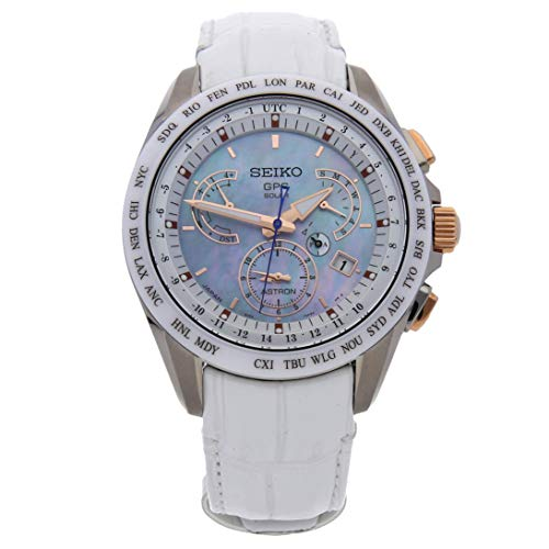 Astron Quartz (Battery) Mother-of-Pearl Dial Mens Watch  (Certified Pre-Owned) - Seiko SSE063