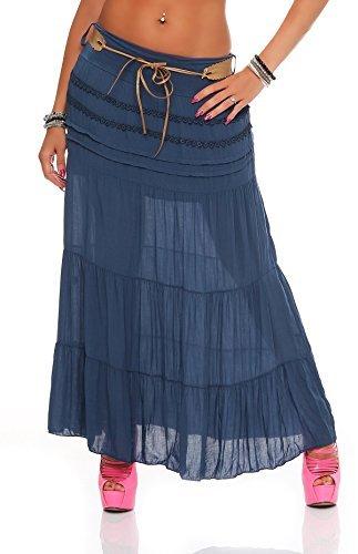 Matyfashion Collection - Falda - para mujer azul marino