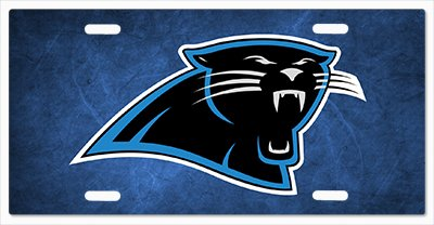 Carolina Panthers - The Run v06 Vanity License Plate