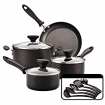 Farberware Reliance 12 piece Black Cookset
