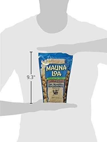 Hawaiian Mauna Loa Dry Roasted Macadamia Nuts & Sea Salt 11 Oz. Bag by Mauna Loa (Image #11)