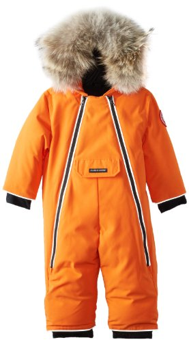 Canada Goose Baby Lamb Snowsuit, Sunset Orange, 3-6 by Canada Goose