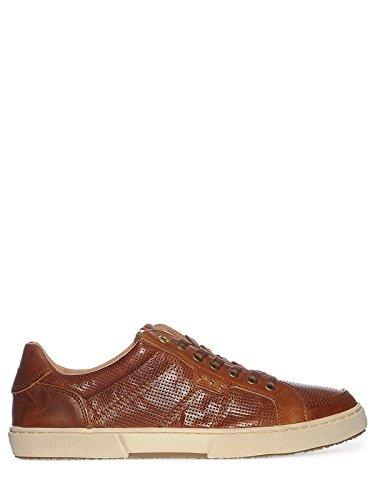 Pantofola d'Oro MISANO LOW MEN XL TORTOISE SHELL Herren Sneaker Leder Braun