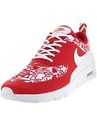 0fe88d2c474b6b Kids Air Max Thea SE (GS) University Red White Black Running Shoe