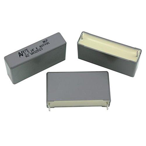 5x MKP-Condensador rad. 3, 3µF 400V DC ; 37, 5mm ; R75MW4330JEM0K ; 3, 3uF 3µF 400V DC ; 37 IT-Tronics