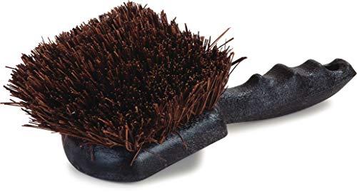 Palmyra Scrub Brush - Carlisle 3651300 Ergonomic Palmyra Water Bucket Scrub Brush, 8-1/2