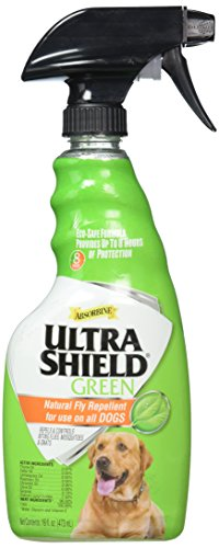 W F Young Pet 450130 Ultrashield Natural Fly Repellent Spray for Dogs, 16 oz